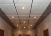 Алюминиевый Кассетный потолок 600х600мм, белый матовый