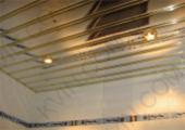 Алюминиевый Реечный потолок Немецкого дизайна, супер-золото 4м